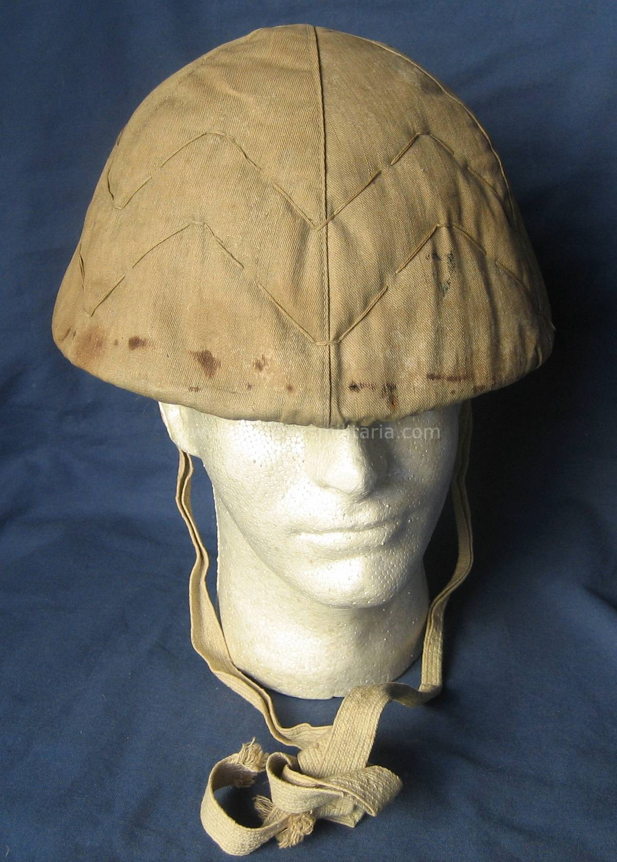 A Very Nice Late War Imperial Japanese Helmet With Cover
