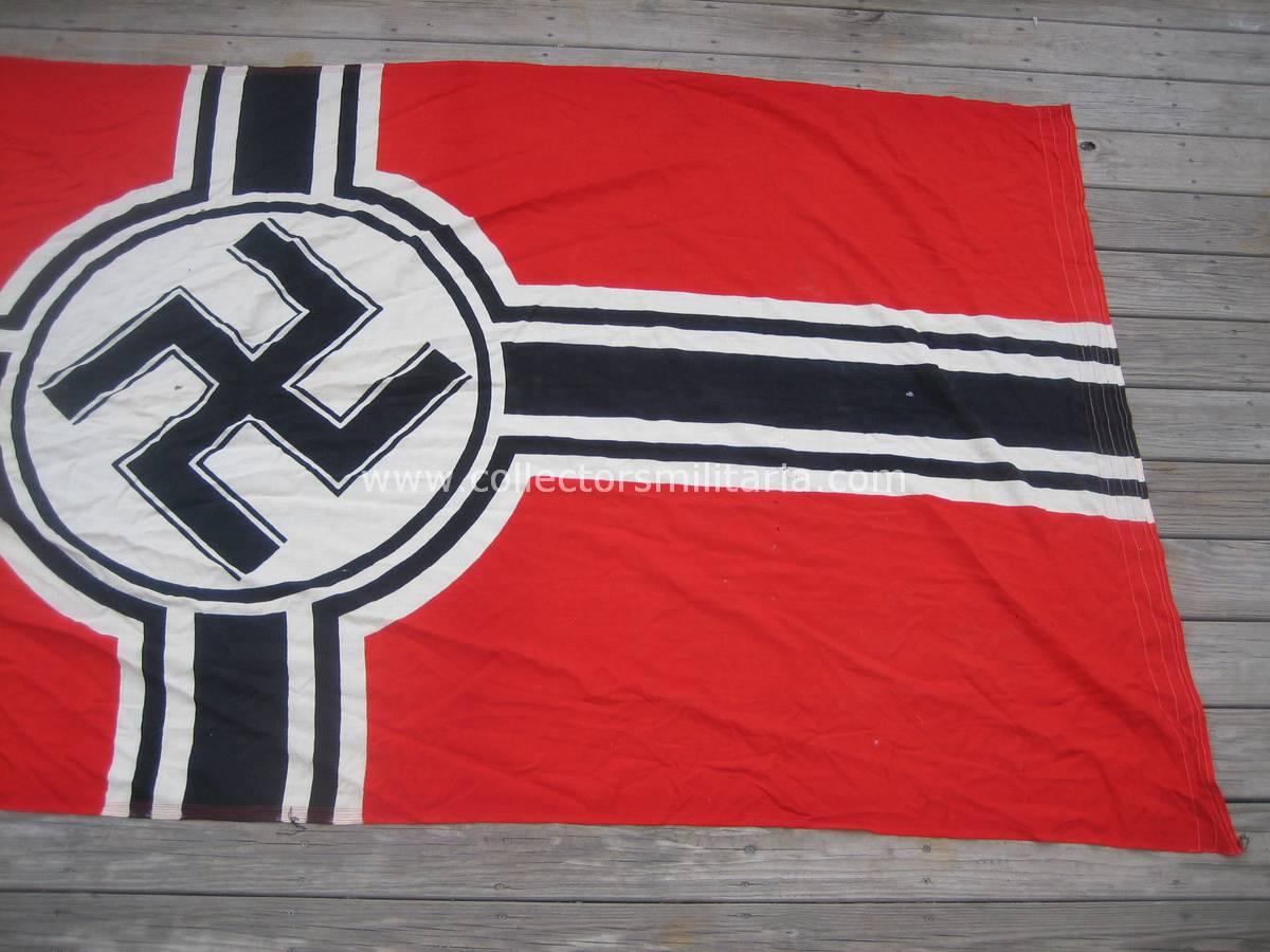 a nice wwii german 150 x 200 kriegsmarine flag