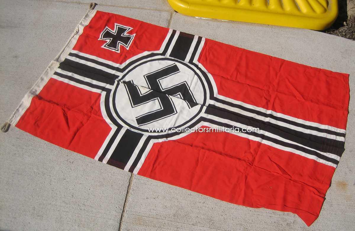 A Very Nice WWII German Kriegs Battle Flag