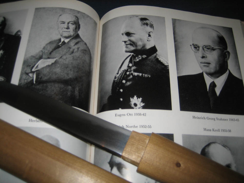 A Tanto Presented To Hitler S Ambassador To Japan General