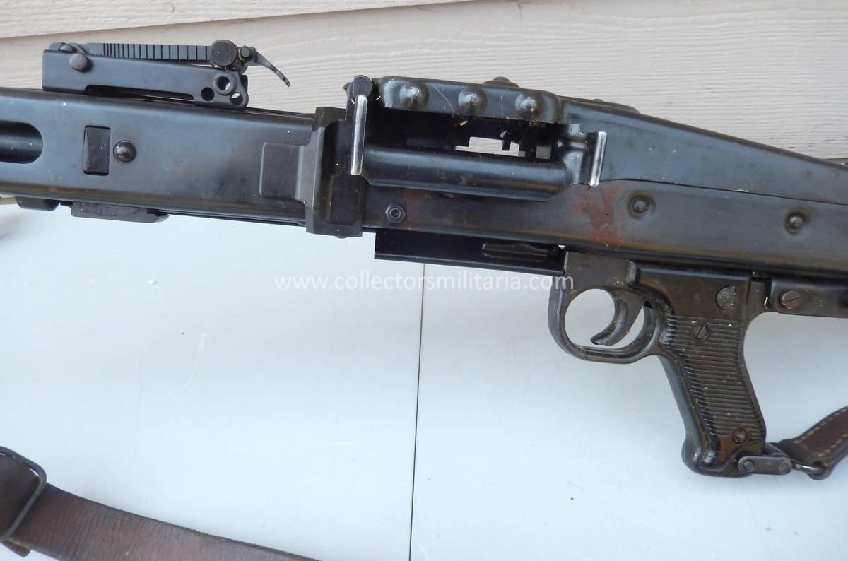 A Nice DEWAT Non Firing WWII German MG42 Machine Gun