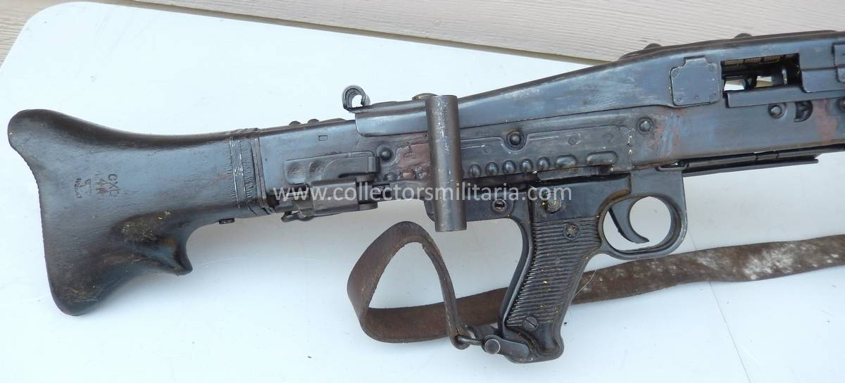 A Nice DEWAT Non Firing WWII German MG42 Machine Gun