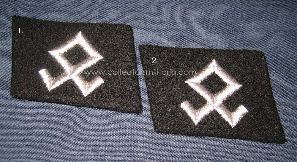 Waffen Ss Symbol The runic symbol on the tab is