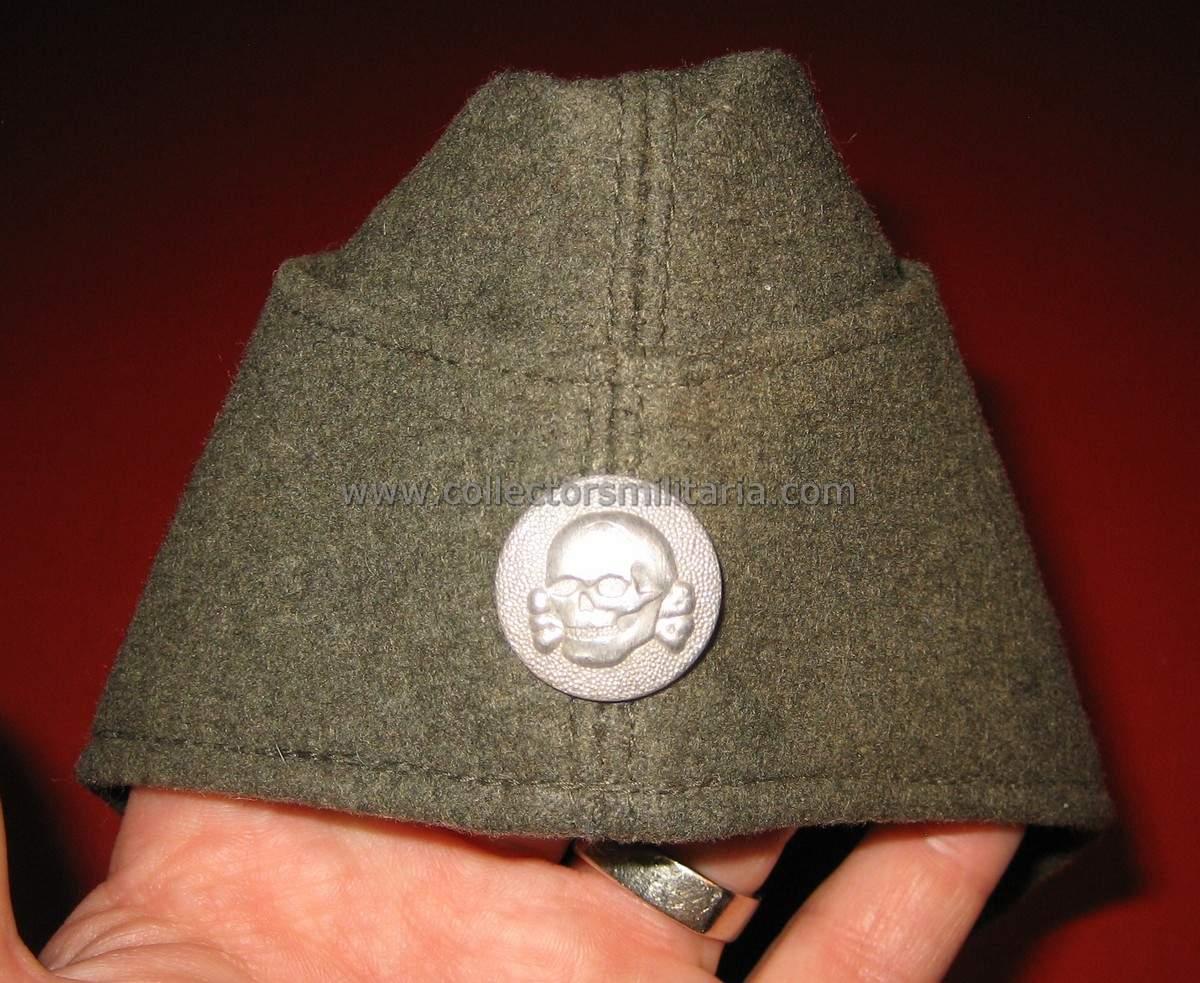 A Very Nice Green Gray SS VT M34 Overseas Cap
